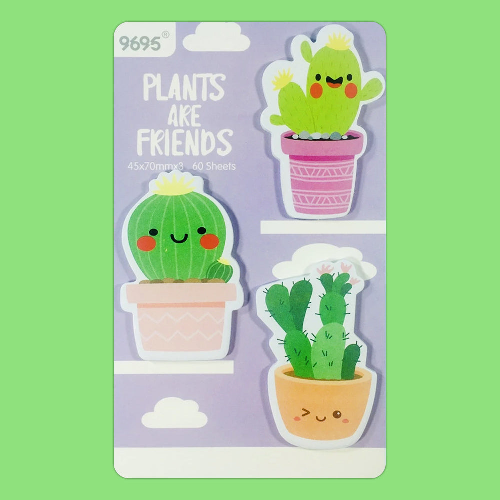 Post it Cactus Friends