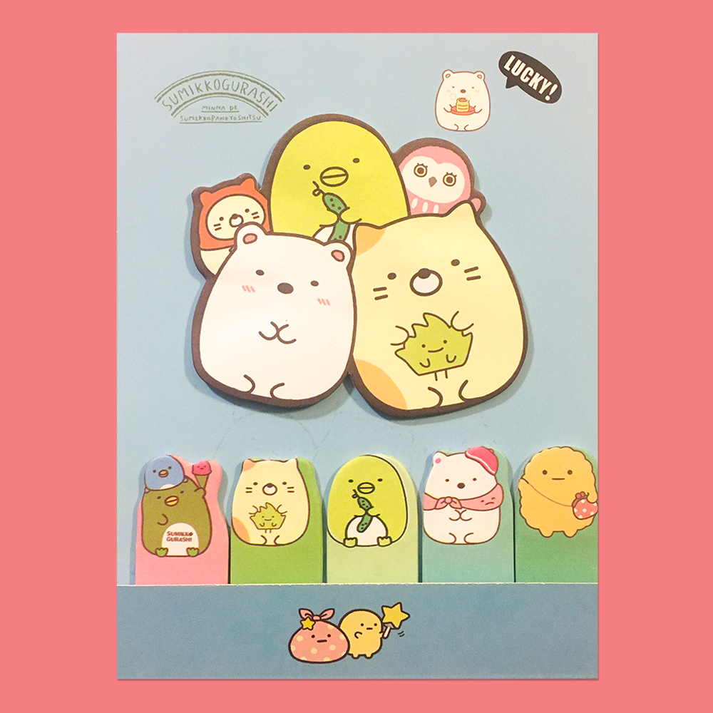 Post it Sumikko Gurashi