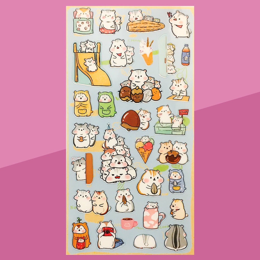 Stickers Hamster