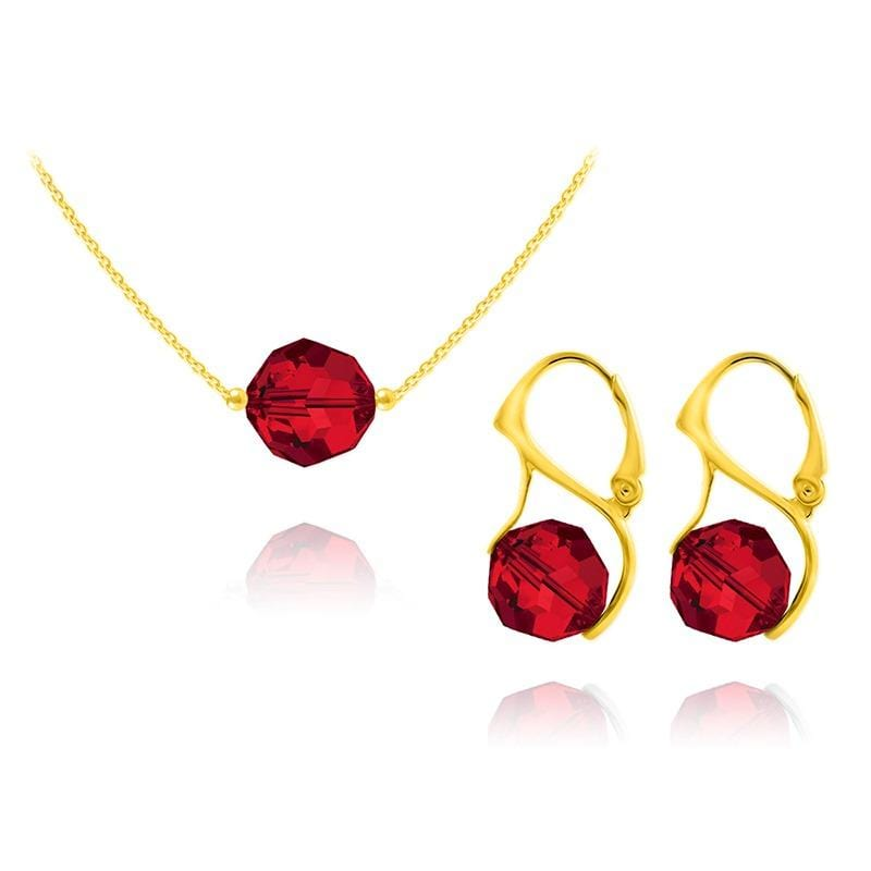 24K Gold Jewellery Set Light Siam