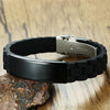 Custom Stainless Steel Black Bracelet
