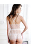 Lace Babydoll And G-String Set