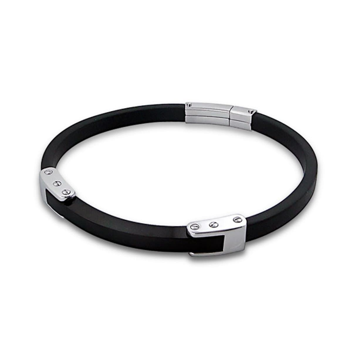 Mens Stainless Steel Bangle Bracelet 21 CM