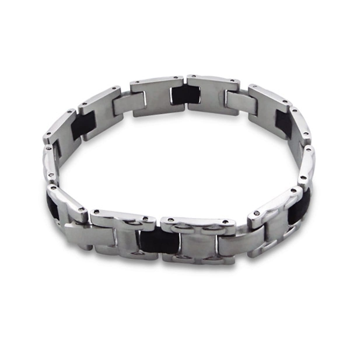 Mens Stainless Steel Bangle Bracelet 20 CM