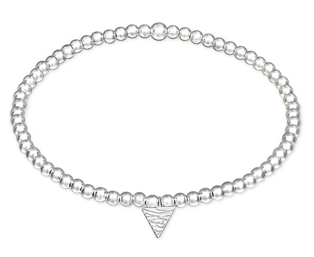 Sterling Silver Triangle Bracelet
