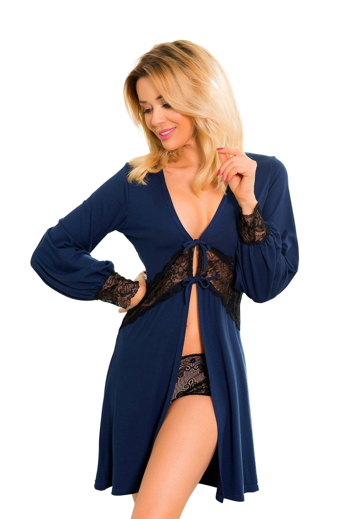 Womens Luxury Dressing Gown