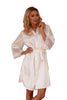 Elegant Satin Dressing Gown