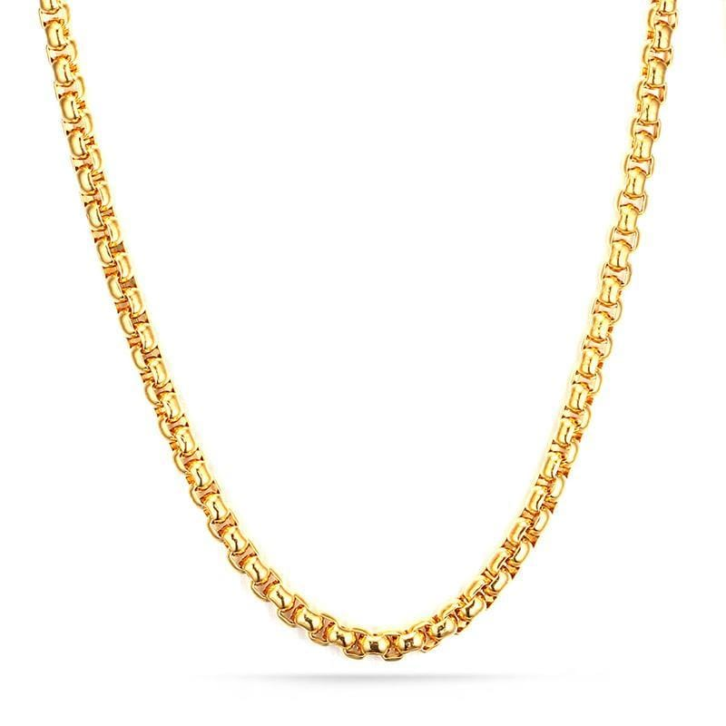 Stainless Steel Gold Chain Necklace