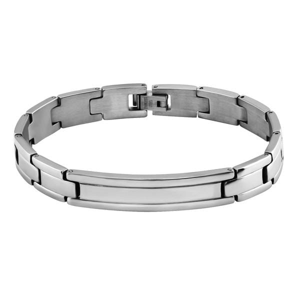 20 CM Handcuff Stainless Steel Mens Bracelet