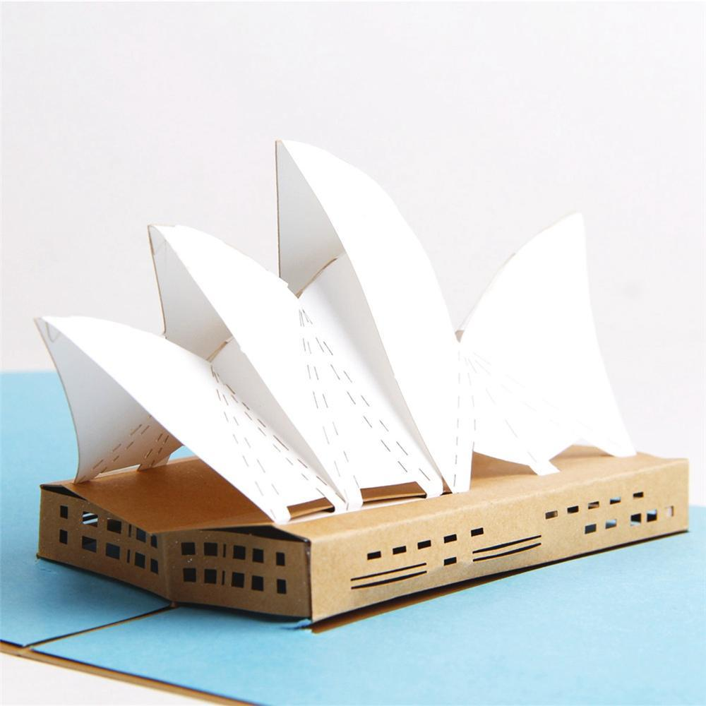 Sydney Opera House 3D Pop up Greeting Card