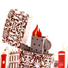 Colorful Lighter 3D Pop up Greeting Card
