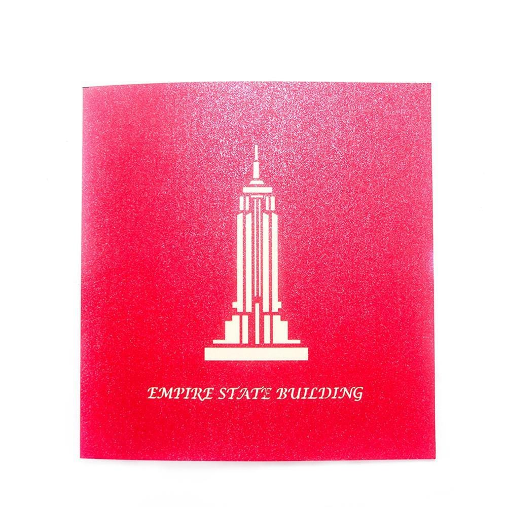 Empire State Building 3D Pop up Greeting Card