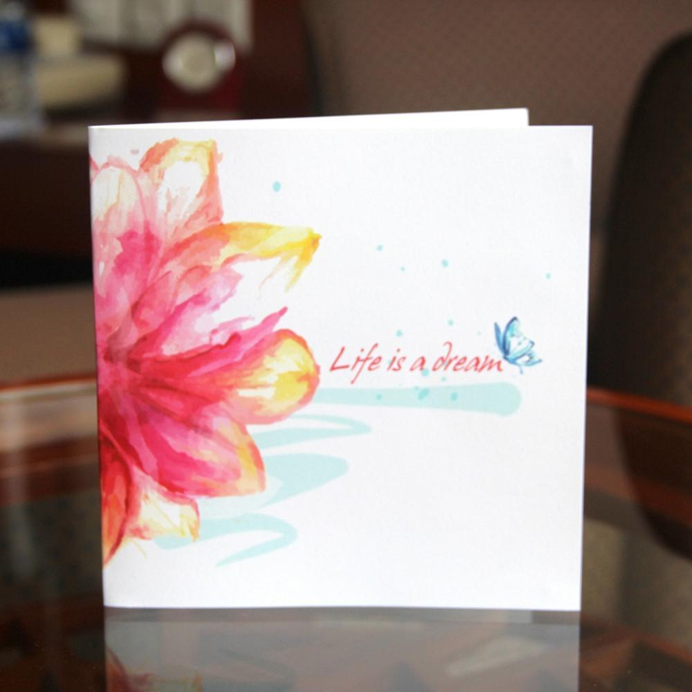 Blooming Pop Up Greeting Card