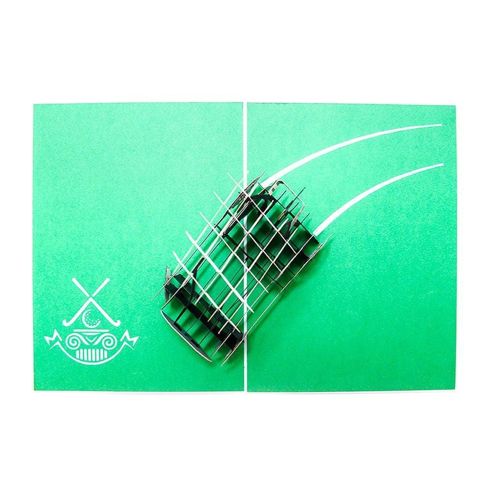Golf Pop Up Greeting Card