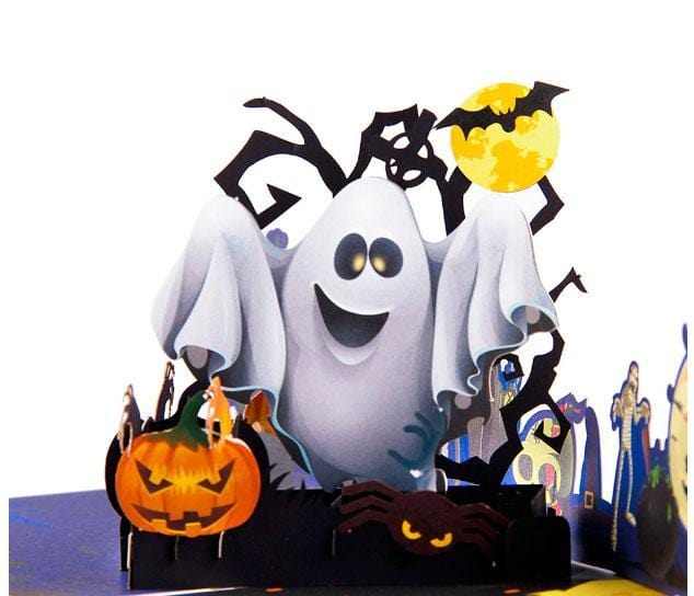 3D Pop Up Halloween Greeting Card