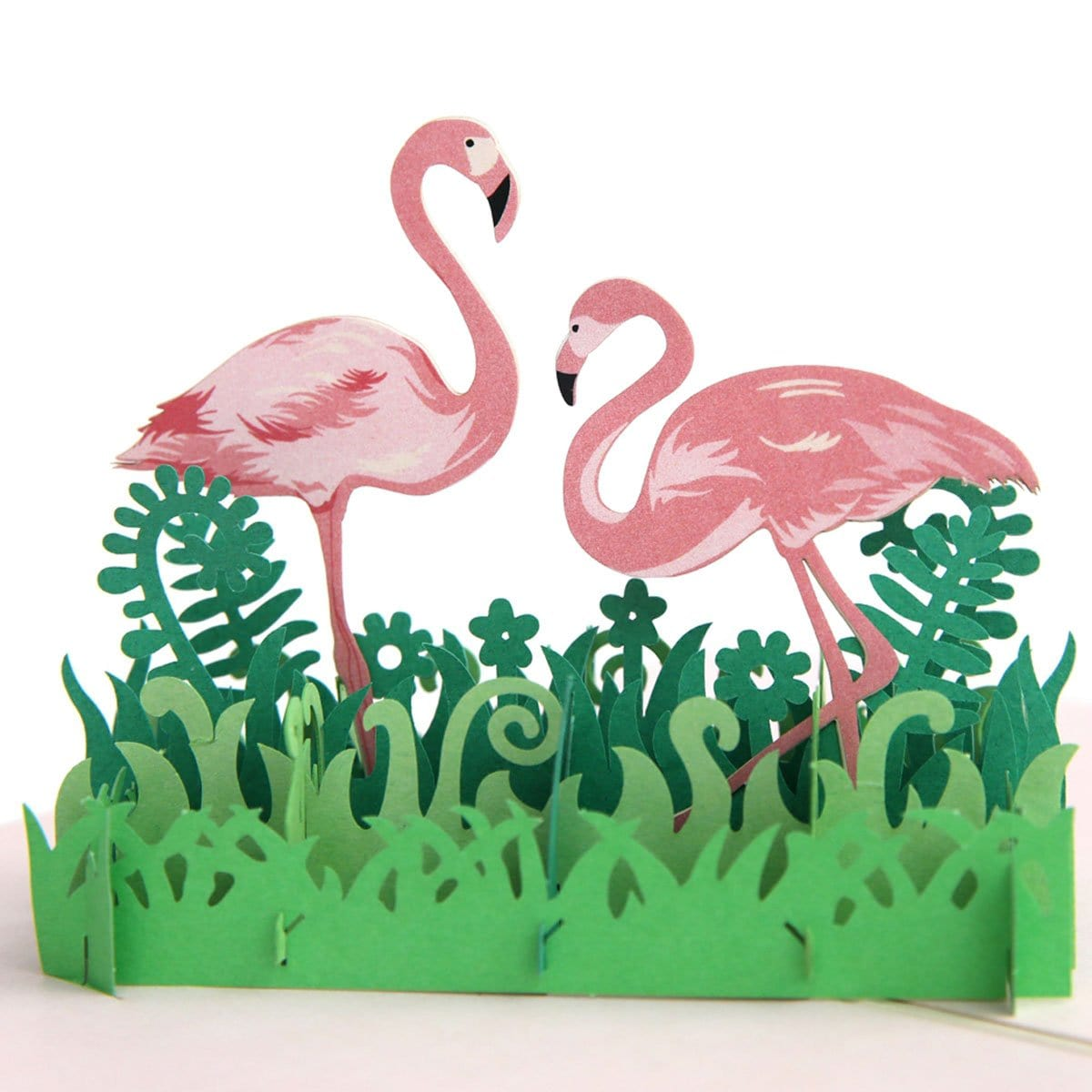 Flamingo Pop Up Greeting Card