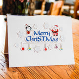 Pop Up Happy Holiday DIY Greeting Card