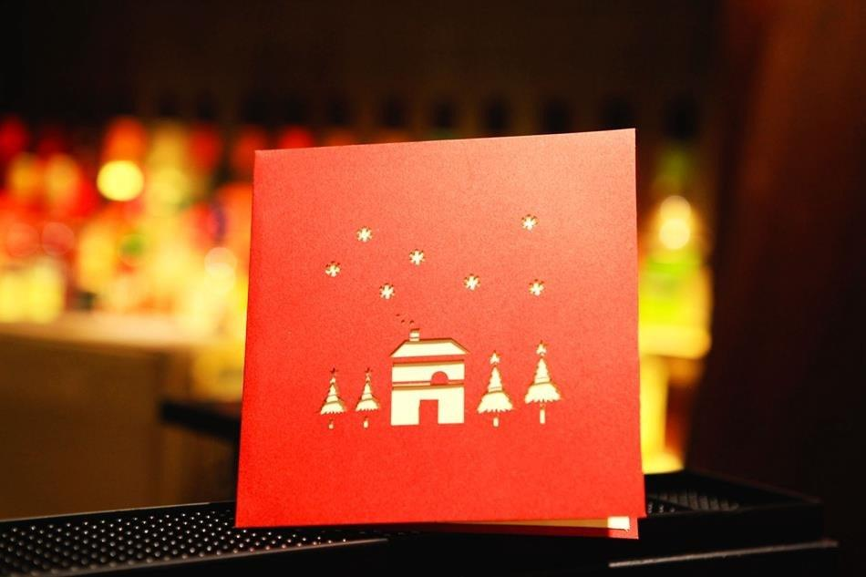 Pop Up Merry Christmas Pop Up Greeting Card