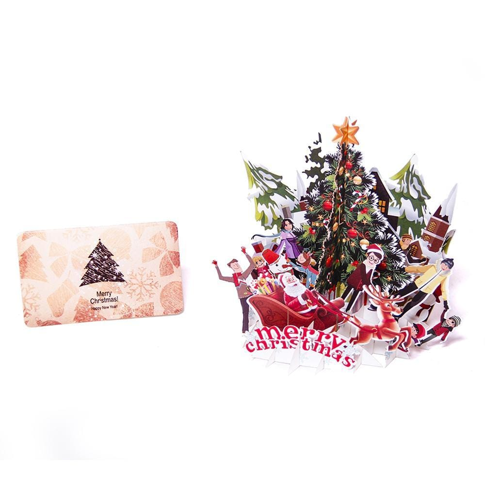 Christmas Party Pop Up Greeting Card