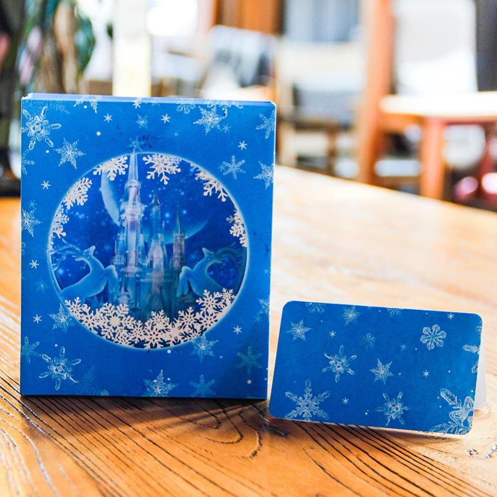 Ice Castle Pop Up Greeting Card