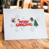 Pop Up Santa Ride DIY Greeting Card
