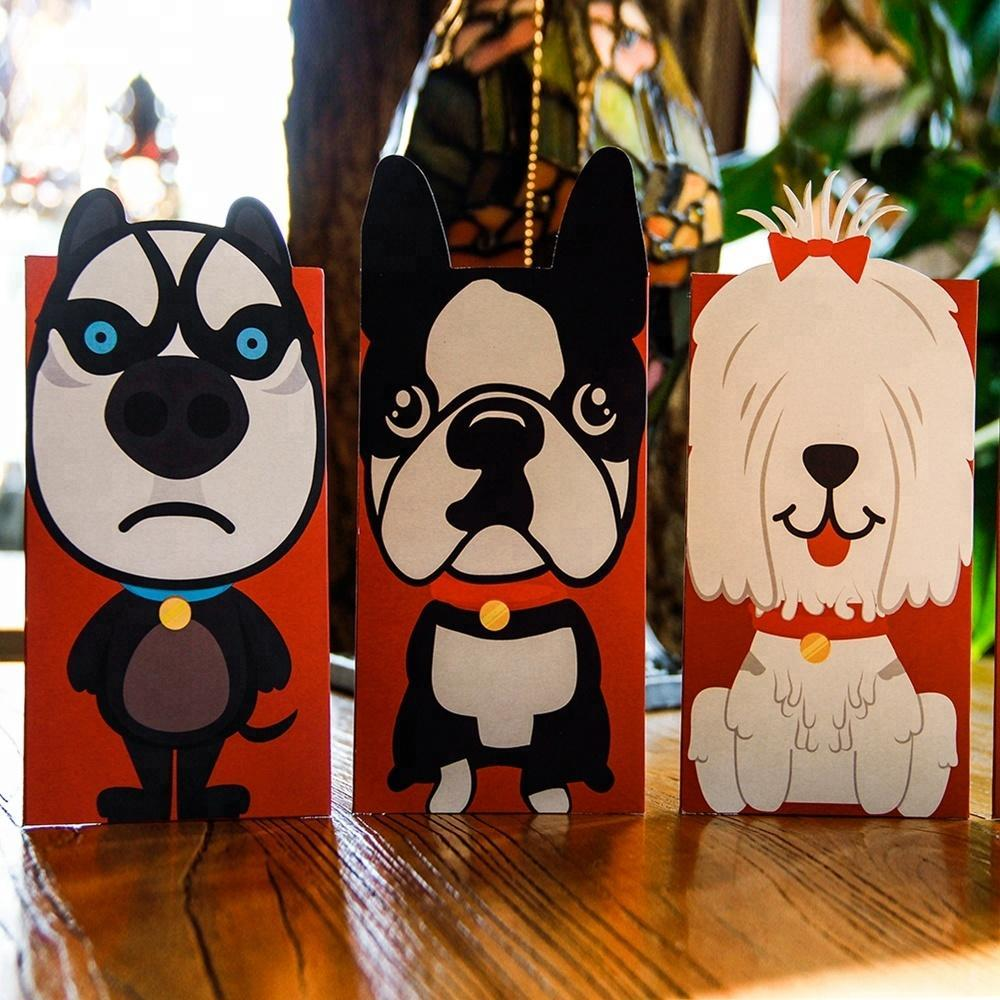 6 x Dogs Love Cards Set.