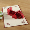 3d Pop Up Westminster Abbey Greeting Card