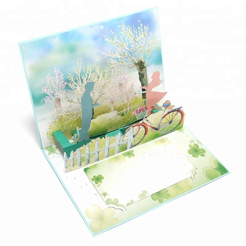 Fall in love Pop up valentine's Greeting Card