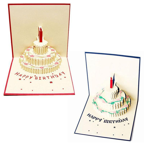 3D Pop up Birthday Greeting Card