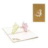 3D POP Two Butterfly Greeting Card