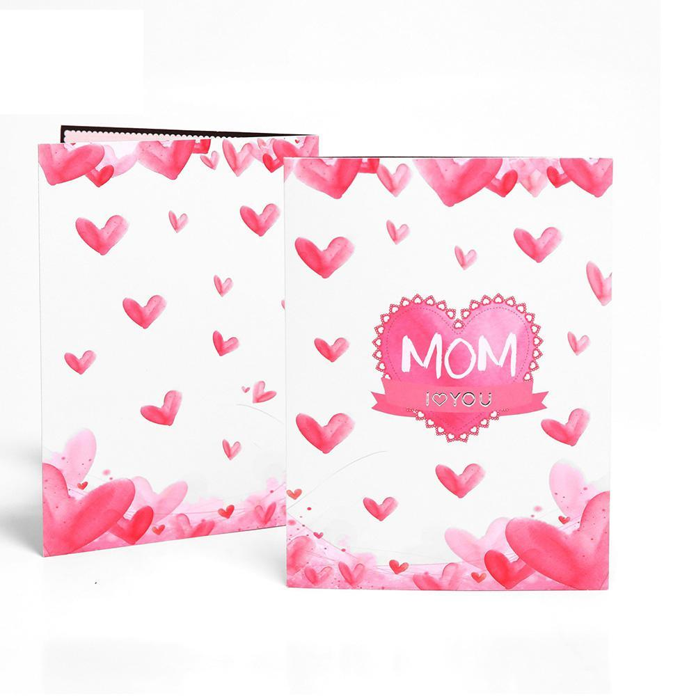 3D Pop Up Flower Bouquet MOM - Mother's Day Greeting Card