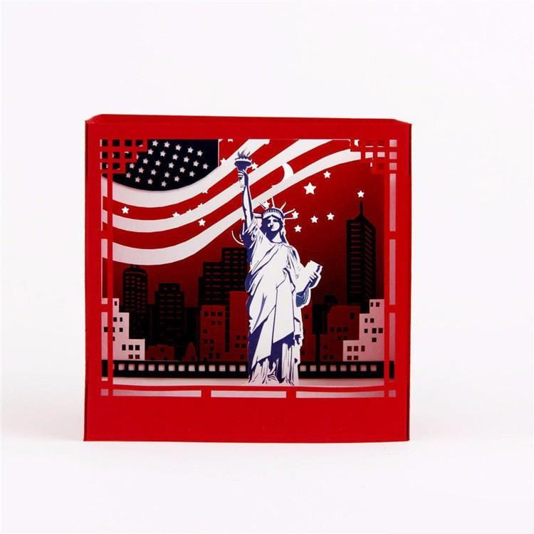 New York 3D Pop up Greeting Card Box