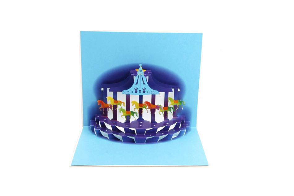Pleasure Ground 3D Pop up Greeting Card