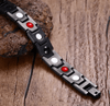 Magnetic Titanium  Health Black  Bracelet