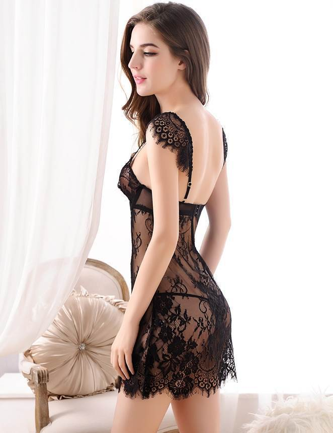 Sexy Lace Bobydoll Lingerie