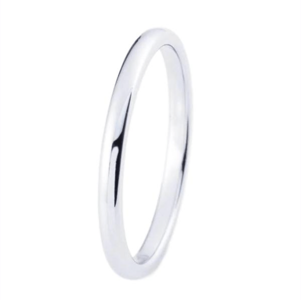 Tungsten Sliver Engagement & Wedding Ring for Women