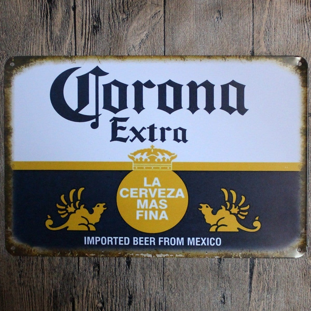 Corona Tin Sign Metal Poster