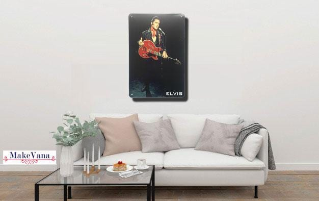 Elvis Metal Tin Sign Poster