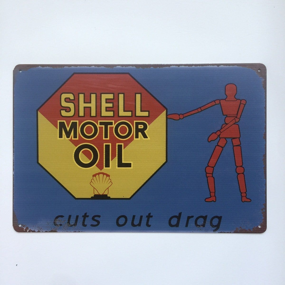Shell Motor Oil Tin Sign Poster
