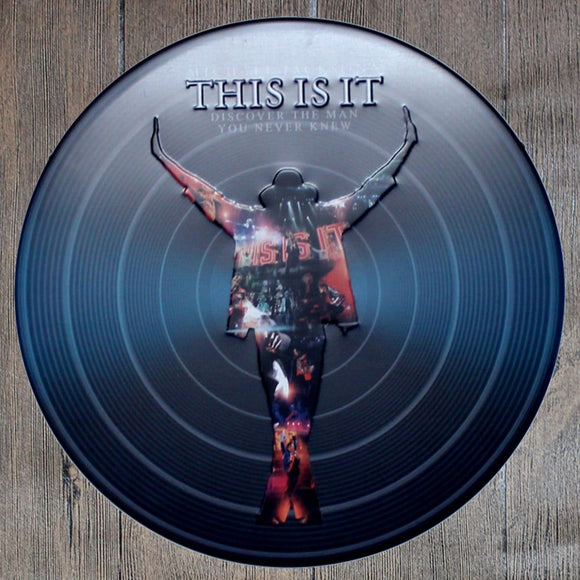 This Is It Round Metal Tin Sign Poster