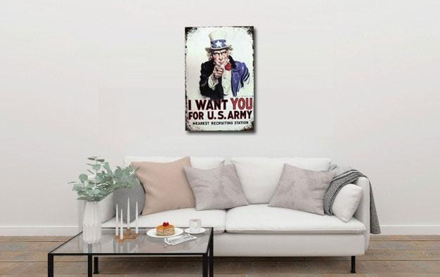 I Want You For US Army Poster