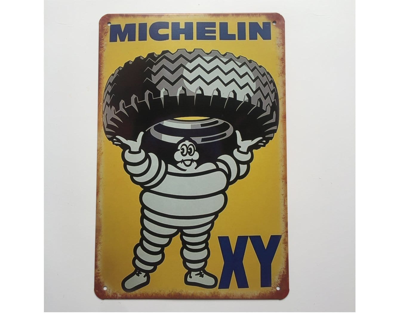 Michelin XY Metal Tin Sign Poster