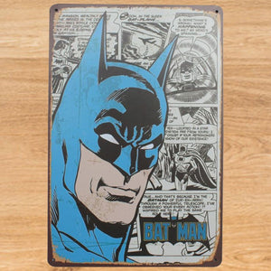 Batman Tin Sign Metal Poster