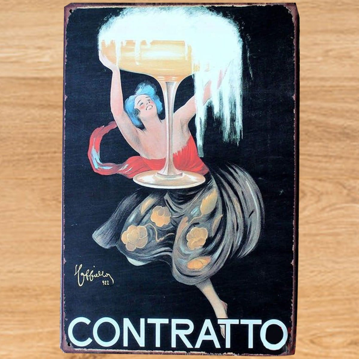 Vintage Metal Craft Beer Sign Tin Poster