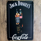 Jack Daniel's Bar Sign- Tin Poster