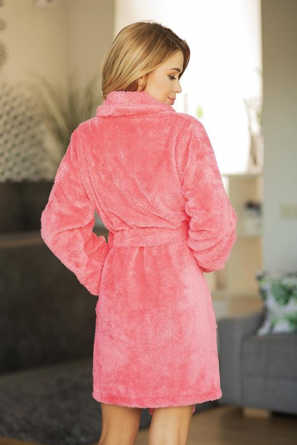 Luxury Dressing  Gown  Fluffy Bath Robe