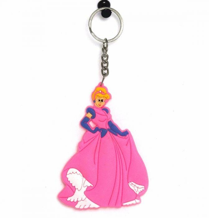 DISNEY PRINCESS PVC KEYCHAIN