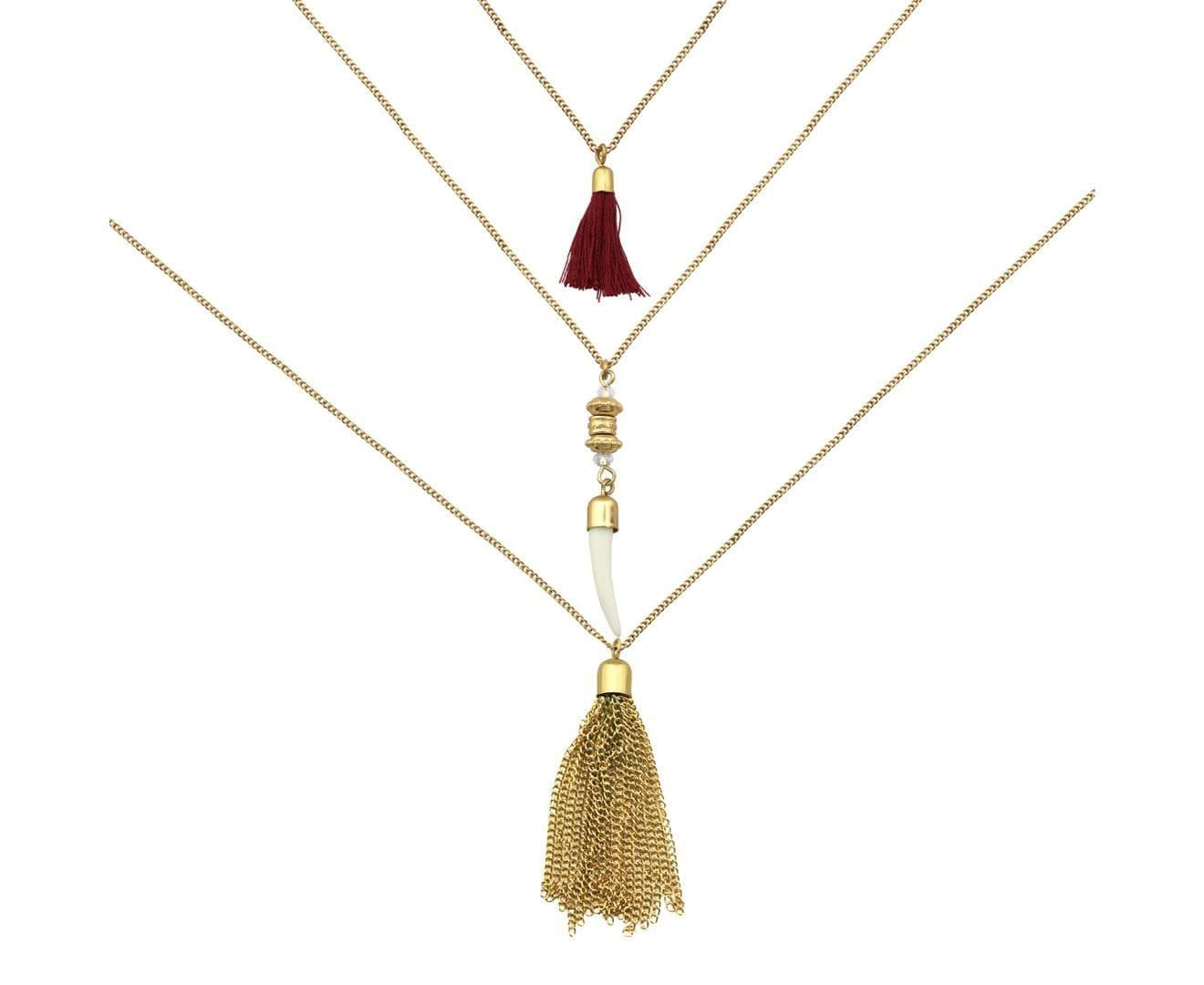 Gold Plated Layer Necklac