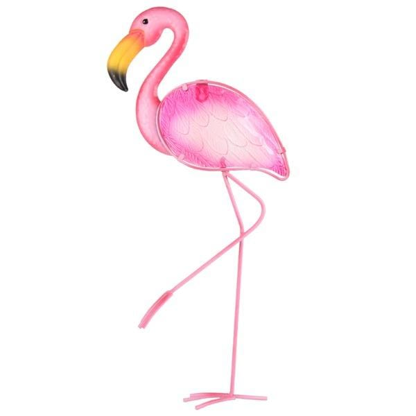 Flamingo Metal Wall Art
