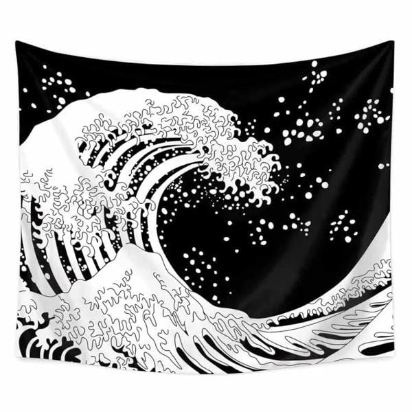 Great  Ocean Wave Wall Hanging  Tapestry